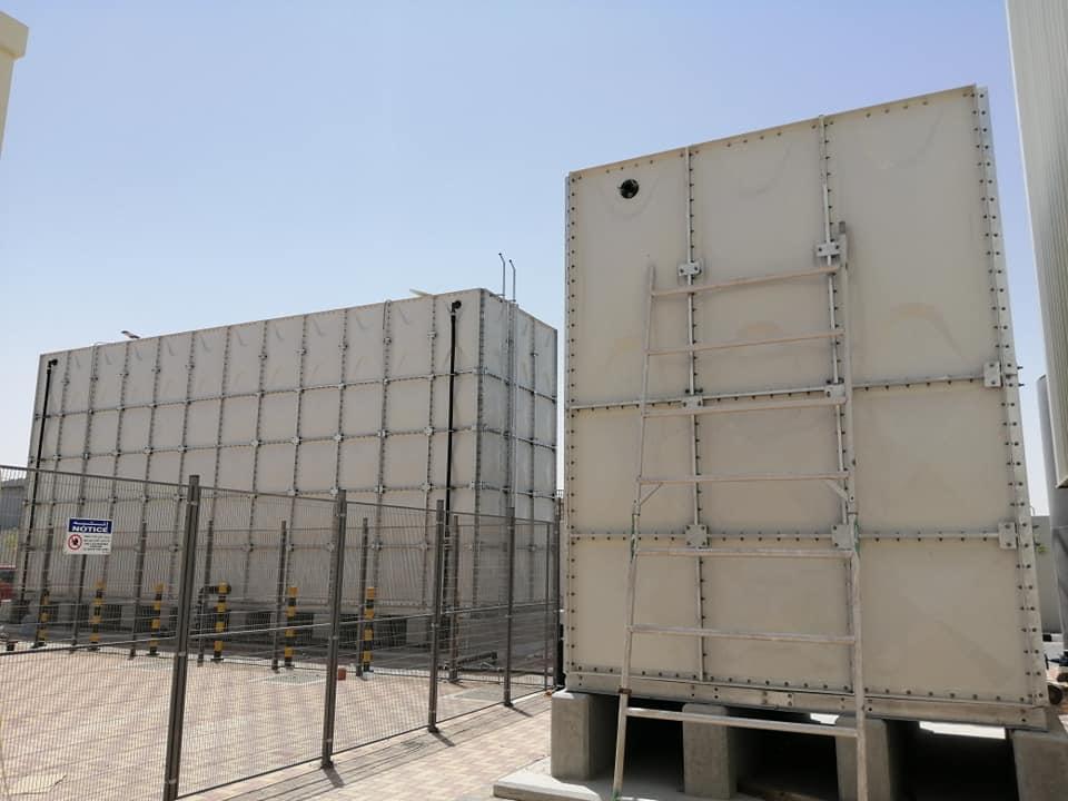 مصانع خزانات فيبر جلاس